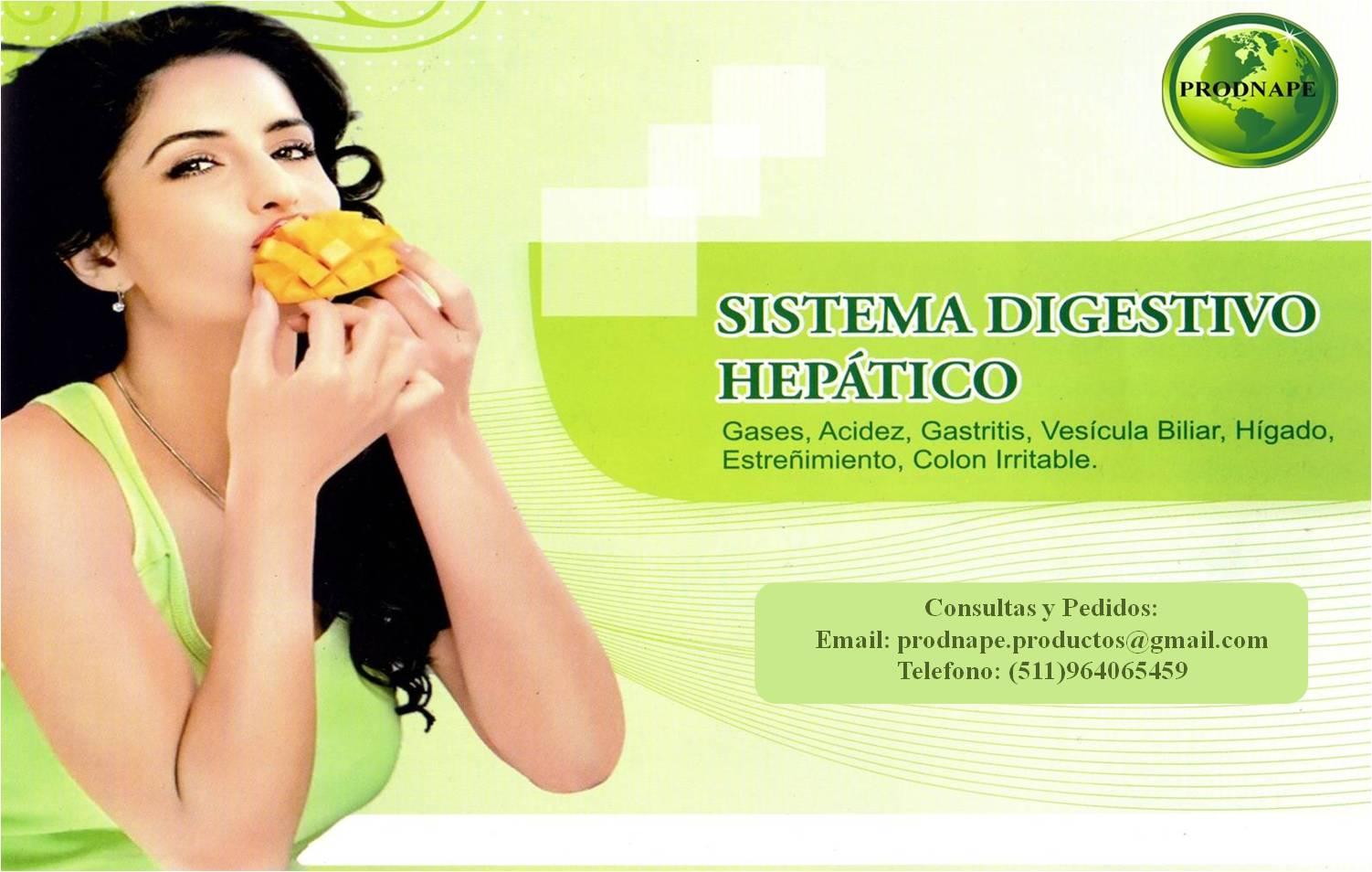 SISTEMA DIGESTIVO HEPATICO