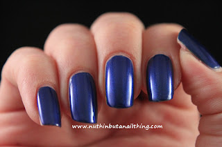 Maquillage BLVD swatches bluesy
