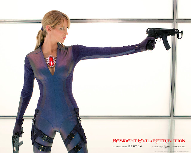 Resident Evil: Retribution PowerPoint background 09