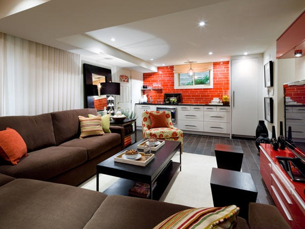 candice olson transform your basement into an living room