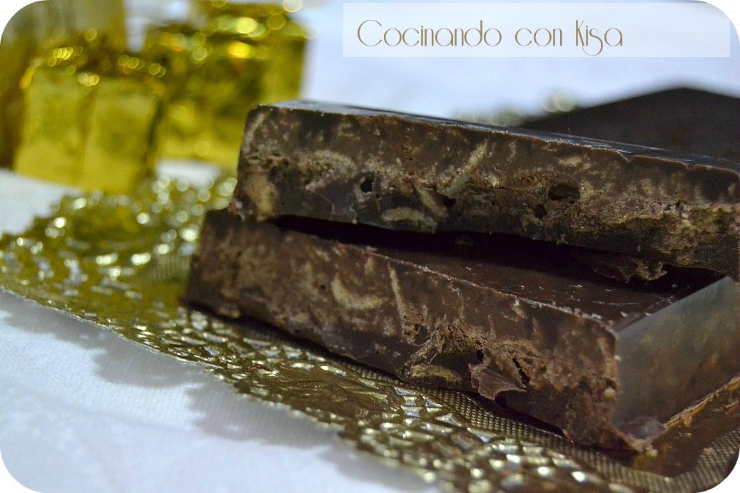 Cocinando con kisa turr n de chocolate con barquillos for Cocinando con kisa