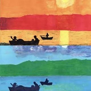 1 crear arte con el arte los colores c lidos y fr os - Paisaje con colores calidos ...