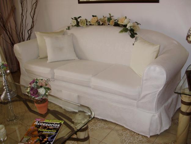 fotos de forros para muebles de sala - fundas para muebles Decorar tu casa es facilisimo