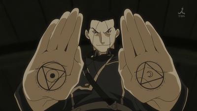 Kimbley e os círculos de transmutação opostos