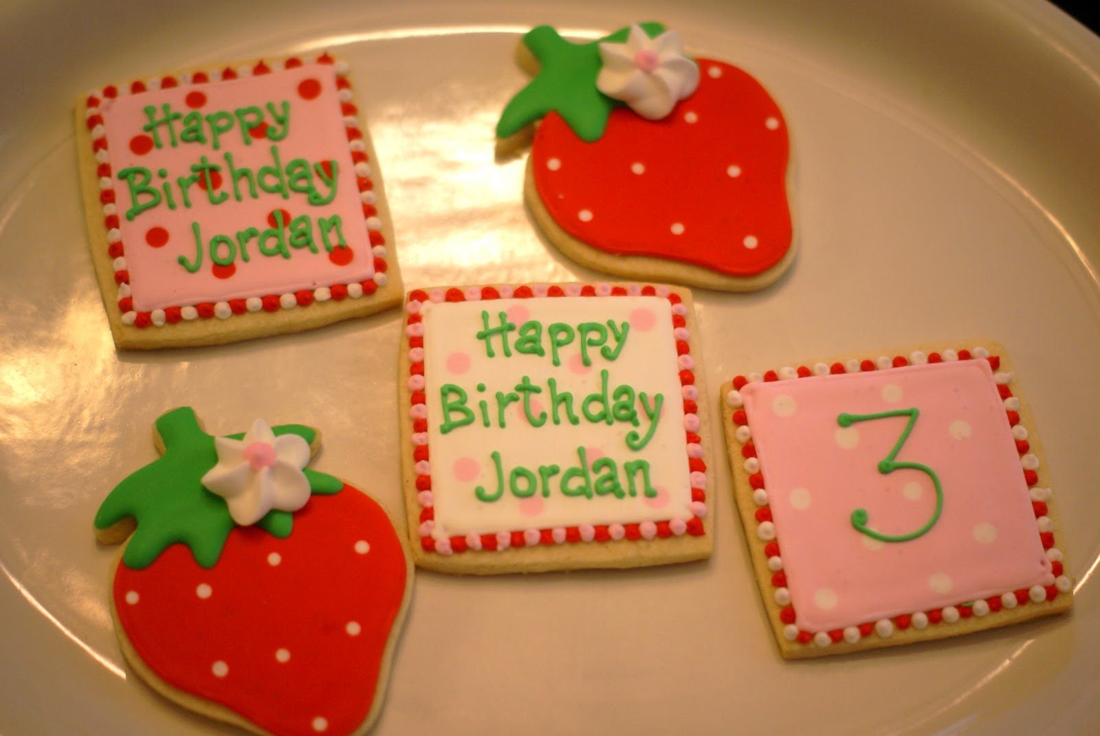 All About the COOKIES: Strawberry Shortcake cookies