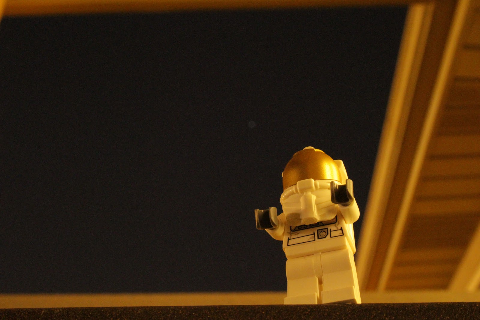 Lego astronaut figure