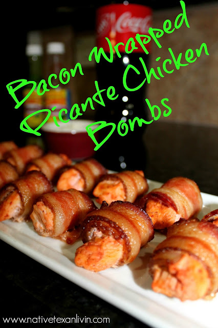 El Yucateco Bacon Wrapped Picante Chicken Bombs
