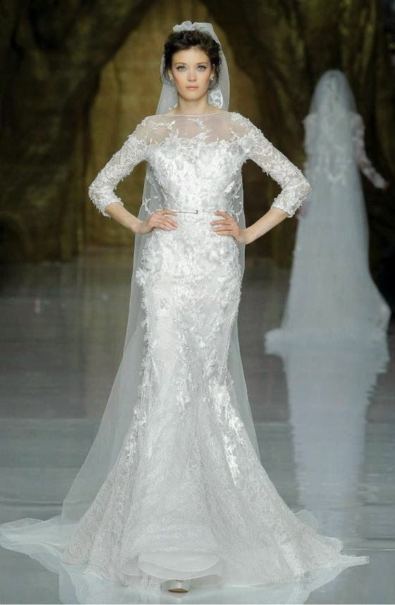 Elie By Elie Saab 2014 Bridal Collection