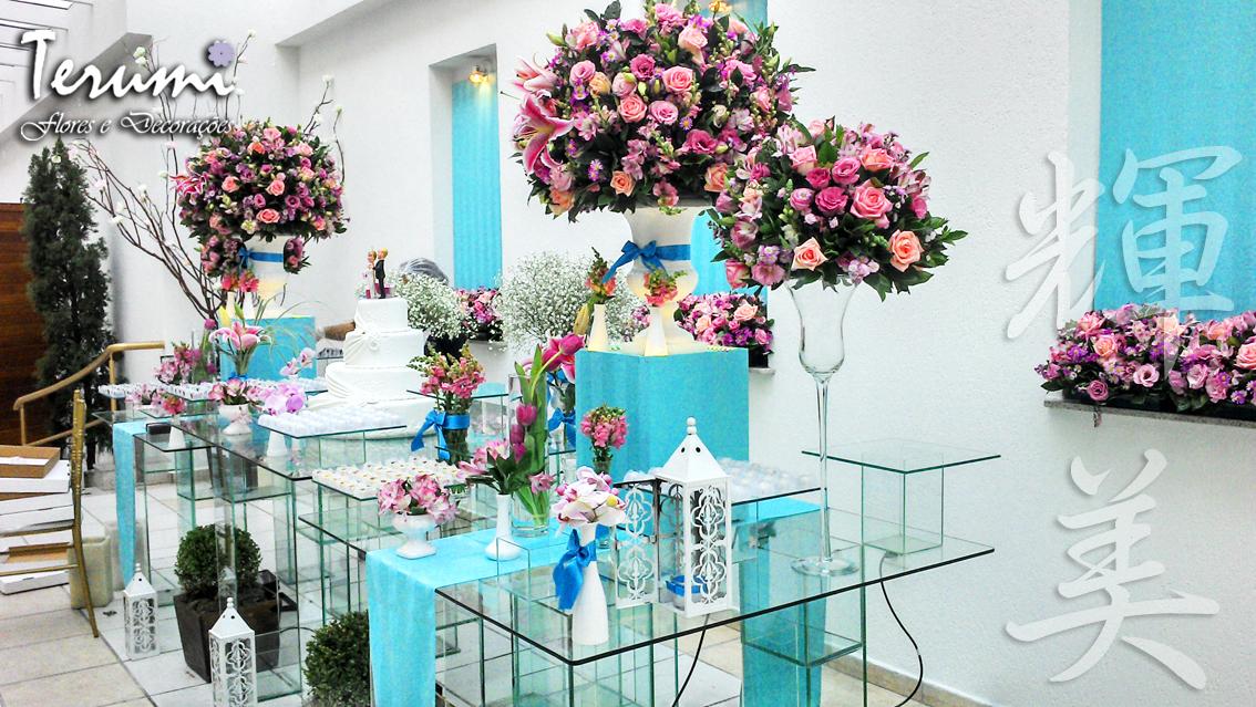 Terumi Flores: Jardim Viena - Azul Tiffany