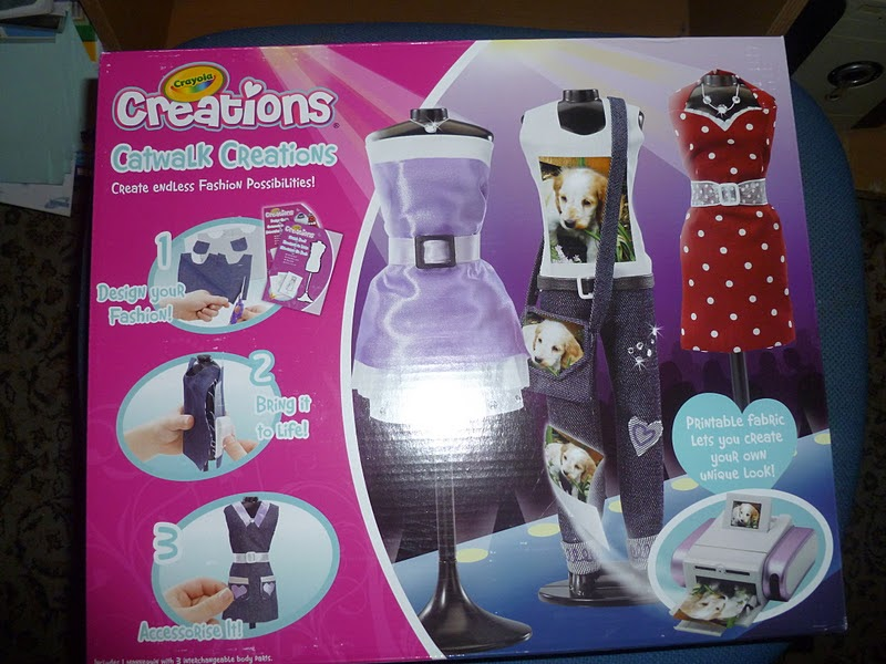 Madhouse family reviews crayola catwalk creations review Crayola fashion design studio reviews