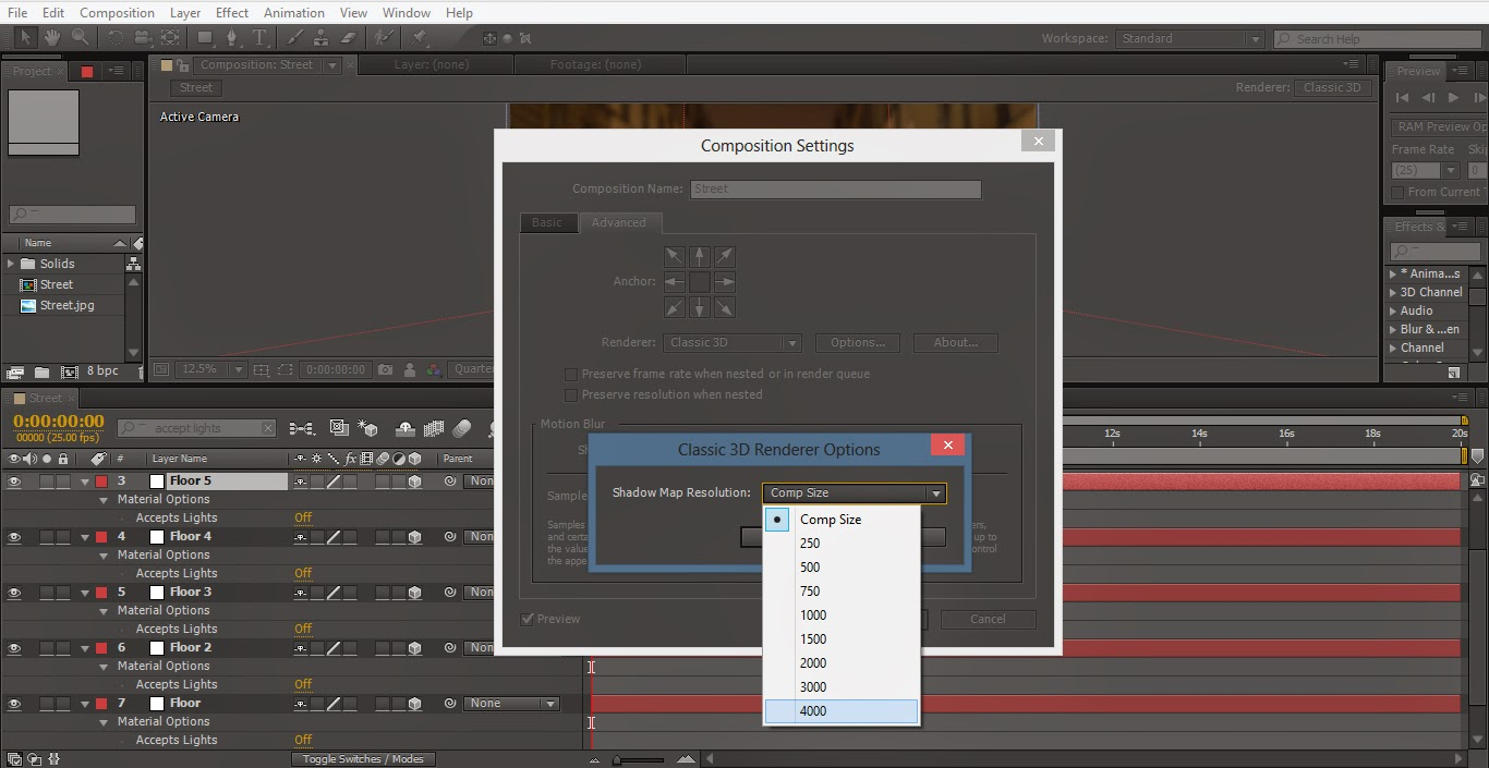After Effects Animation for Projection 3D Video Mapping ...