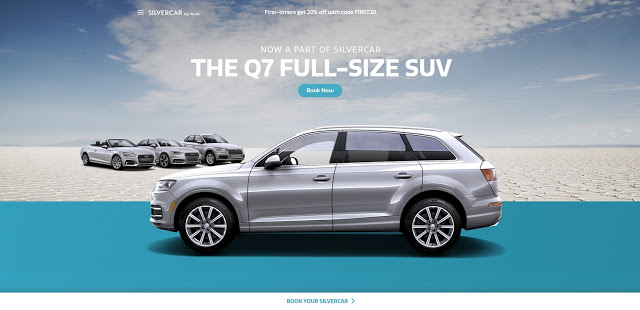 Silvercar by Audi: Get 2 Day Free + $25.00