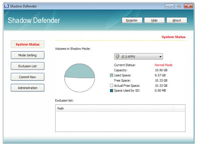 Download Shadow Defender 1.1.0.325 Full Serial
