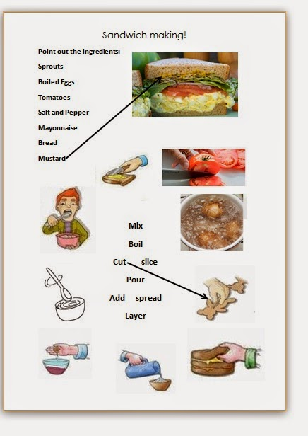 Egg salad sandwiches free ppt and worksheet download mrs stay tuned ill have the recipe written by the students posted forumfinder Choice Image