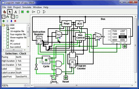 MIC-IGNOU BCA Tutorials : Logisim - Logic Circuit Simulator