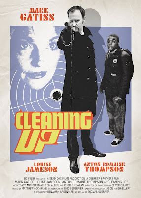 CLeaning Up starring Mark Gatiss, Louise Jameson and Anton Romaine Thompson