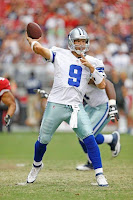 Tony Romo Dallas Cowboys Arizona Cardinals