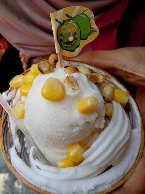 mama miya coconut ice cream penang habib masjid kapitan murah nasi kandaq pasemboq