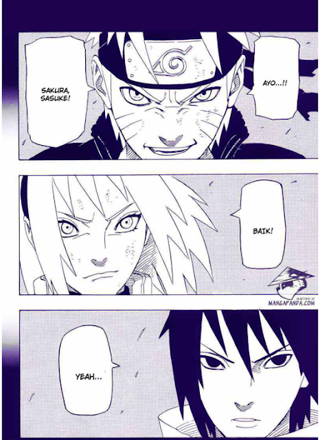 team 7 naruto sasuke sakura bersatu kembali