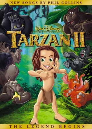 Poster Of Tarzan 2 2005 In Hindi Bluray 720P Free Download