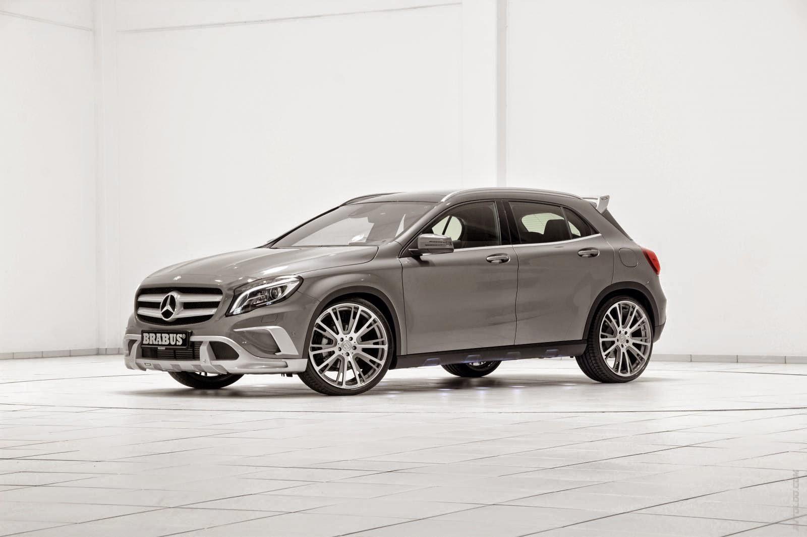 Mercedes benz x156 gla220 cdi by brabus benztuning for 2014 mercedes benz gla class