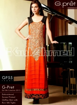 Gul Ahmed G-Pret Collection 2014 for Womens
