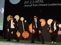 Dancers at the 2012 J-APAC Gala Dinner