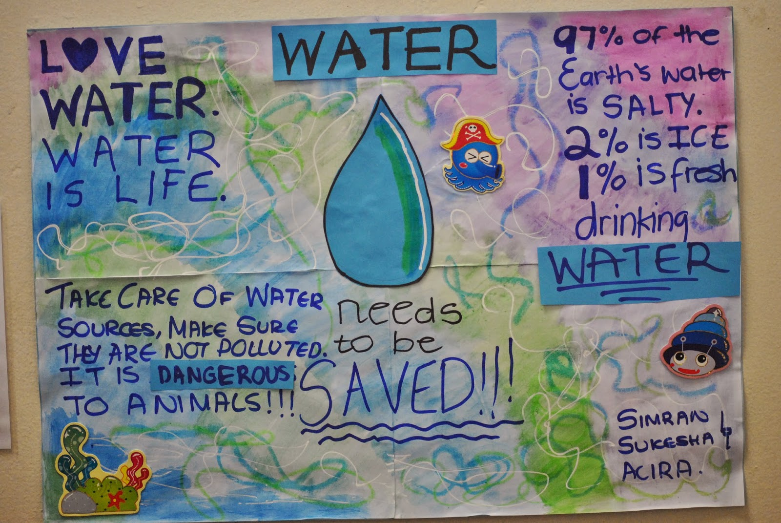 Water Pollution Posters poster on river pollution