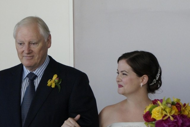 father daughter, aisle, wedding