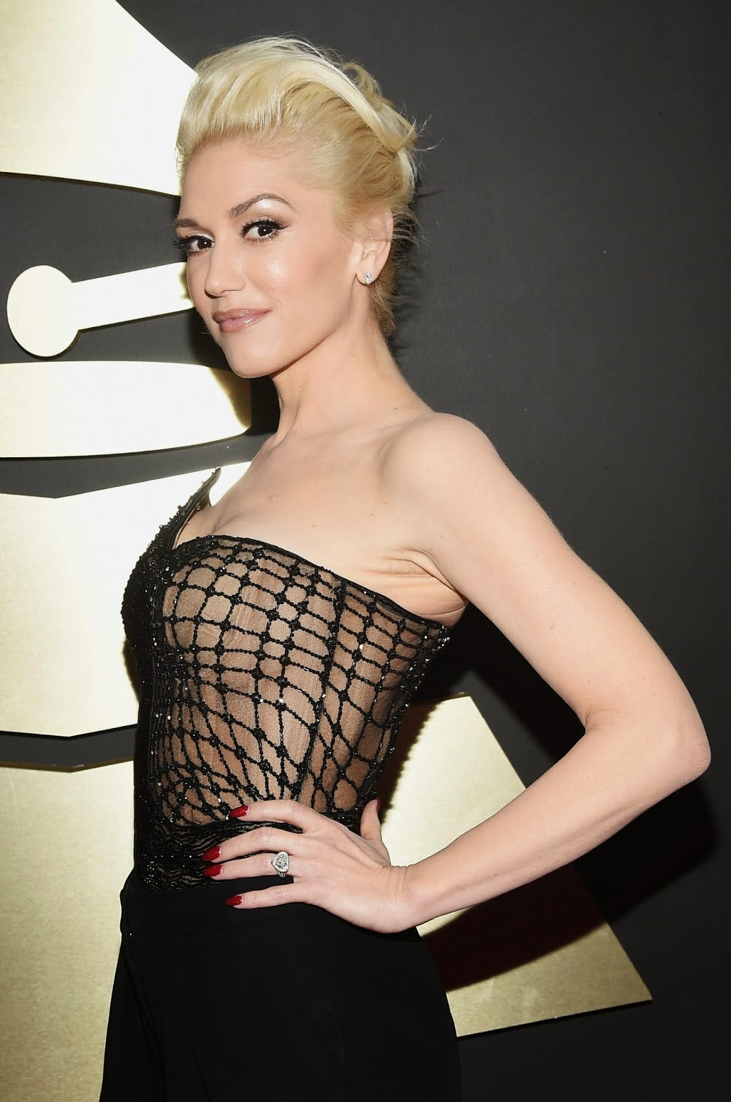 Gwen Stefani – 57th Annual GRAMMY Awards in Los Angeles