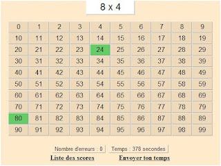 Les jeux de lulu table de multiplication 28 images for Apprendre les tables de multiplications en jouant