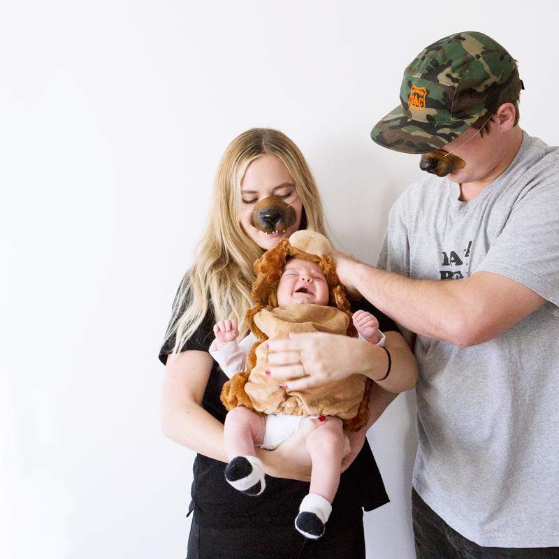papa bear + mama bear + baby bear