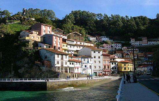 Cudillero en Asturias