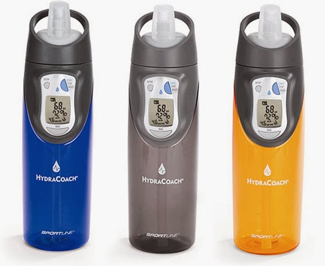 Water tracker bottle