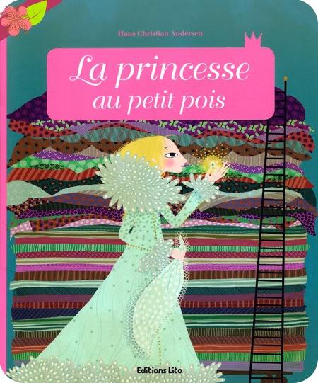 """""""La princesse au petit pois"""" adapté par Anne Royer, illustré par Charlotte Gastaut"""