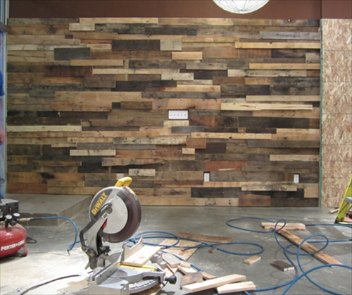 DIY Decorating Your Home With Pallet Wall Art Pallet