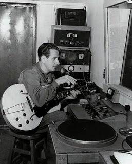 Les Paul en el estudio de grabación
