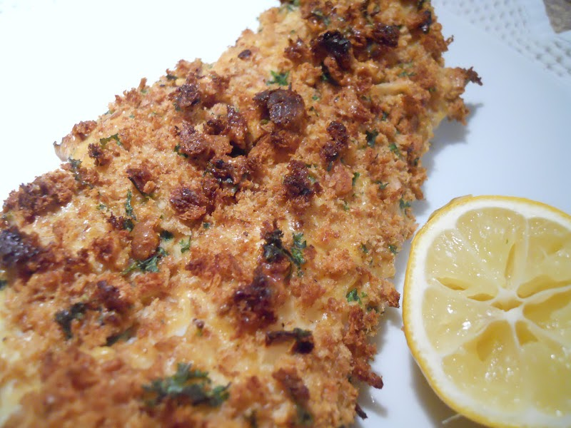 See aimee cook crispy oven fried fish for Oven fried fish