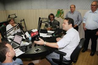 'Compromisso é tirar de Alagoas o título de Estado mais violento do país', lembrou Renan Filho