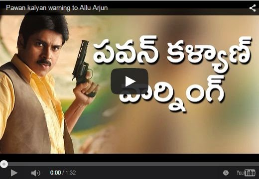 Pawan kalyan warning to Allu Arjun