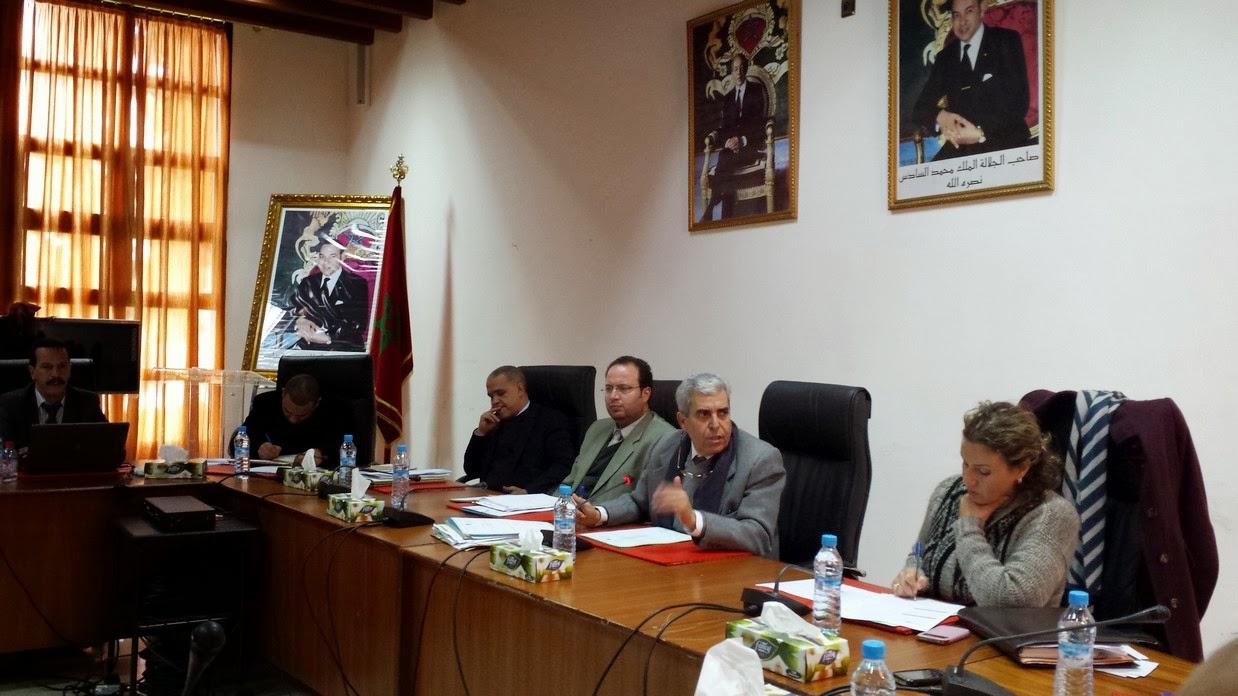 اجتماع اللجن الفرعية للمجلس الإداري للأكاديمية الجهوية للتربية والتكوين لجهة طنجة تطوان