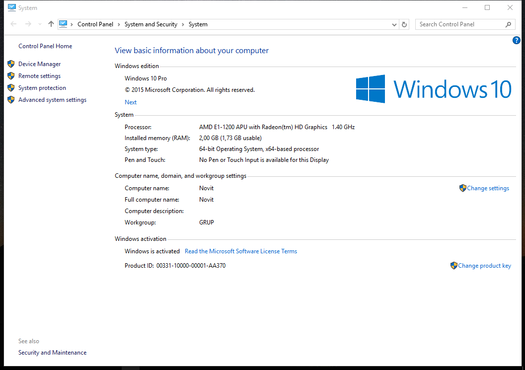 Product key windows 10 pro dan enterprise terbaru 2015 for Window 10 pro product key