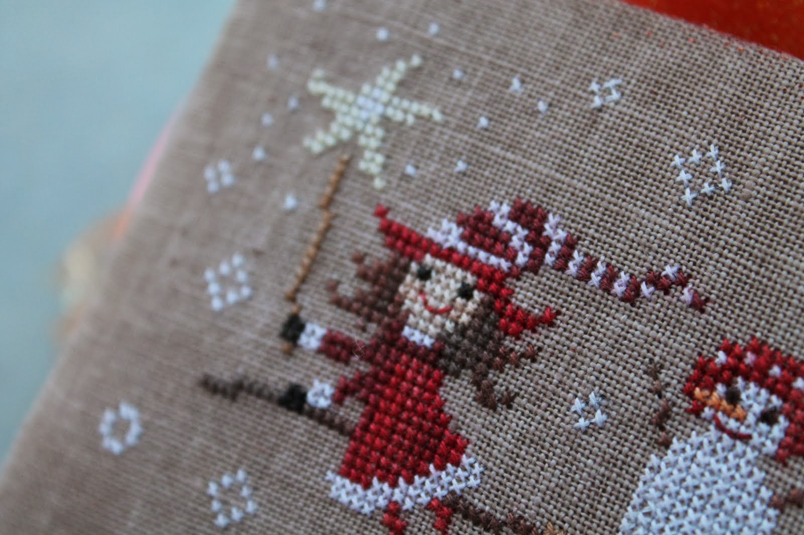 CHRISTMAS PATTERN: Winter Witch (free)