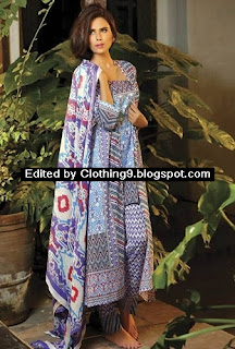 Shariq Deeba Luxury Print Collection 2015
