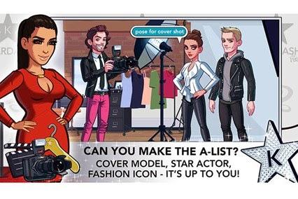Kim Kardashian in game photos