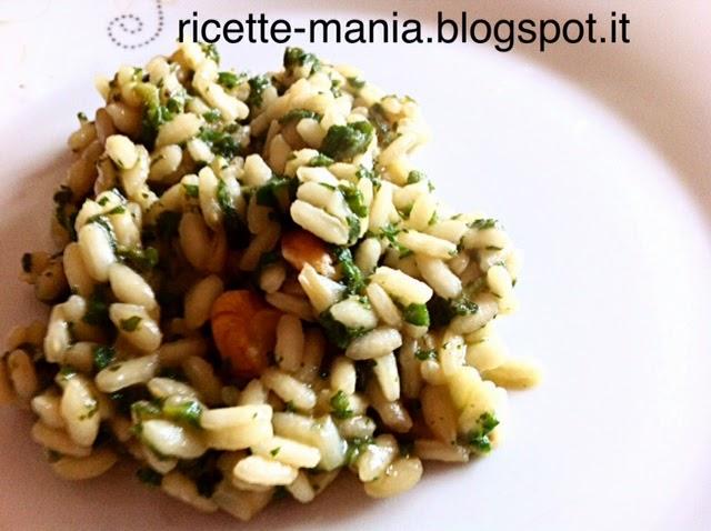 Ricette e idee per cucinare risotto alle ortiche e noci for Cucinare risotto