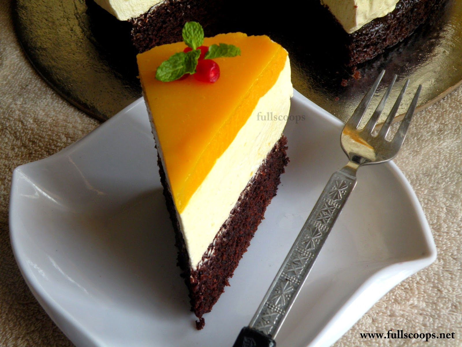 How To Make Mango Cake Eggless