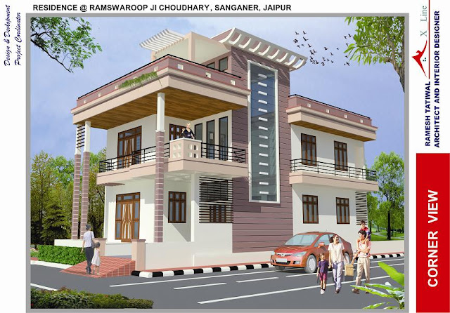 North indian home design omahdesigns net for Exterior house designs indian style