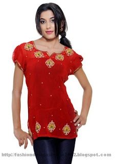 Embroidered-tunics