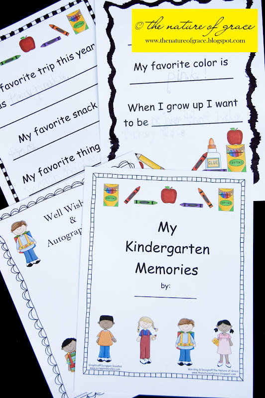 Kindergarten Poetry Book Cover : The nature of grace homeschool theme week